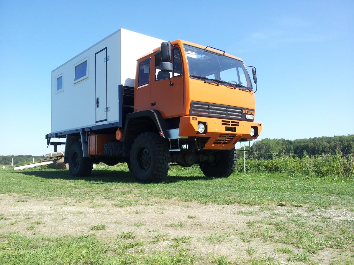 Steyr 12m18 4x4 Heinz Barbara Schweiz